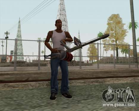 New flamethrower for GTA San Andreas second screenshot