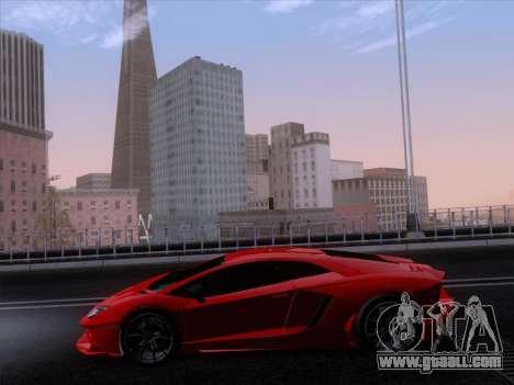 Lamborghini Aventador LP720-4 2013 for GTA San Andreas side view