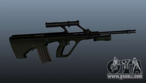 Steyr AUG automatic rifle for GTA 4 third screenshot