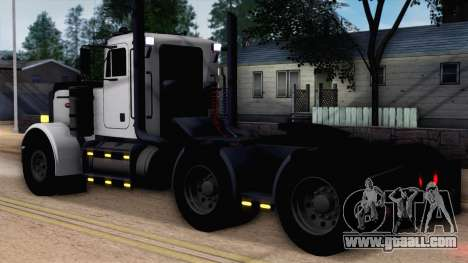 Peterbilt 379 Papa Clyde for GTA San Andreas left view