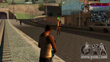 C-HUD Project Capture 6 for GTA San Andreas second screenshot