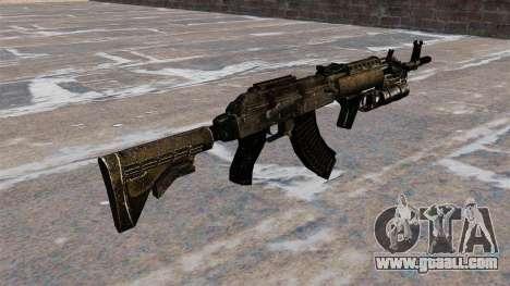 AK-47 GP-25 for GTA 4 second screenshot