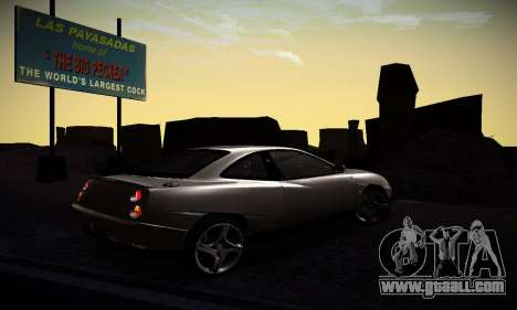 Fiat Coupe for GTA San Andreas right view