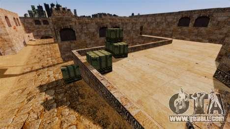 Location Of Counter-strike De_Dust2 for GTA 4 third screenshot