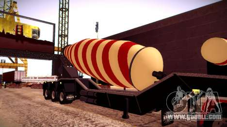 Cement Mixer for GTA San Andreas right view