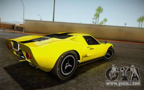 Ford GT40 MkI 1965 for GTA San Andreas left view