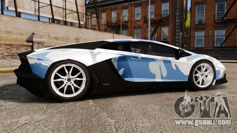 Lamborghini Aventador LP700-4 LE-C 2014 for GTA 4 left view