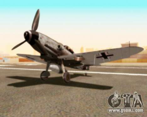 Bf-109 G10 for GTA San Andreas