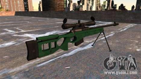 SV-98 sniper rifle for GTA 4 second screenshot