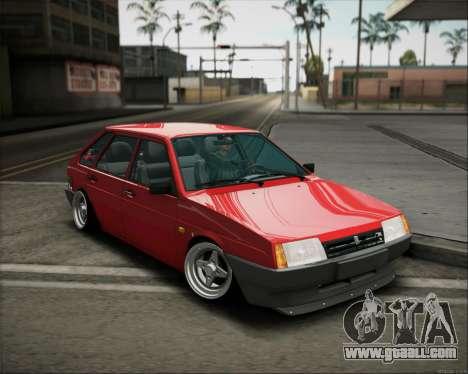 VAZ 2109 Stance for GTA San Andreas