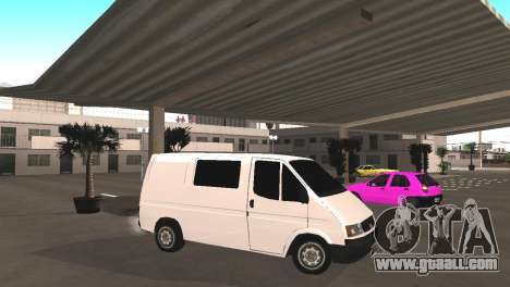 Renault Trafic for GTA San Andreas left view