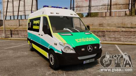 Mercedes-Benz Sprinter Australian Ambulance ELS for GTA 4