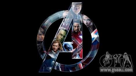 Boot screen Avengers for GTA 4 sixth screenshot