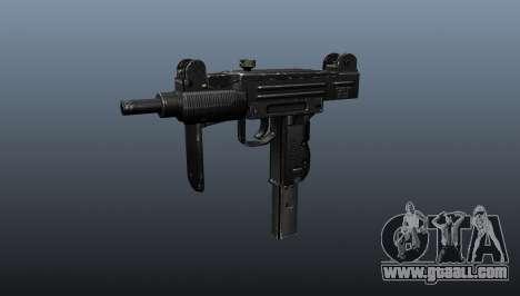 Submachine gun IMI Mini Uzi for GTA 4