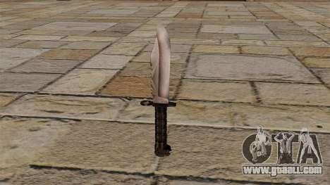 Stalker Knife for GTA 4