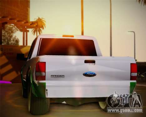 Ford Ranger 2005 for GTA San Andreas side view