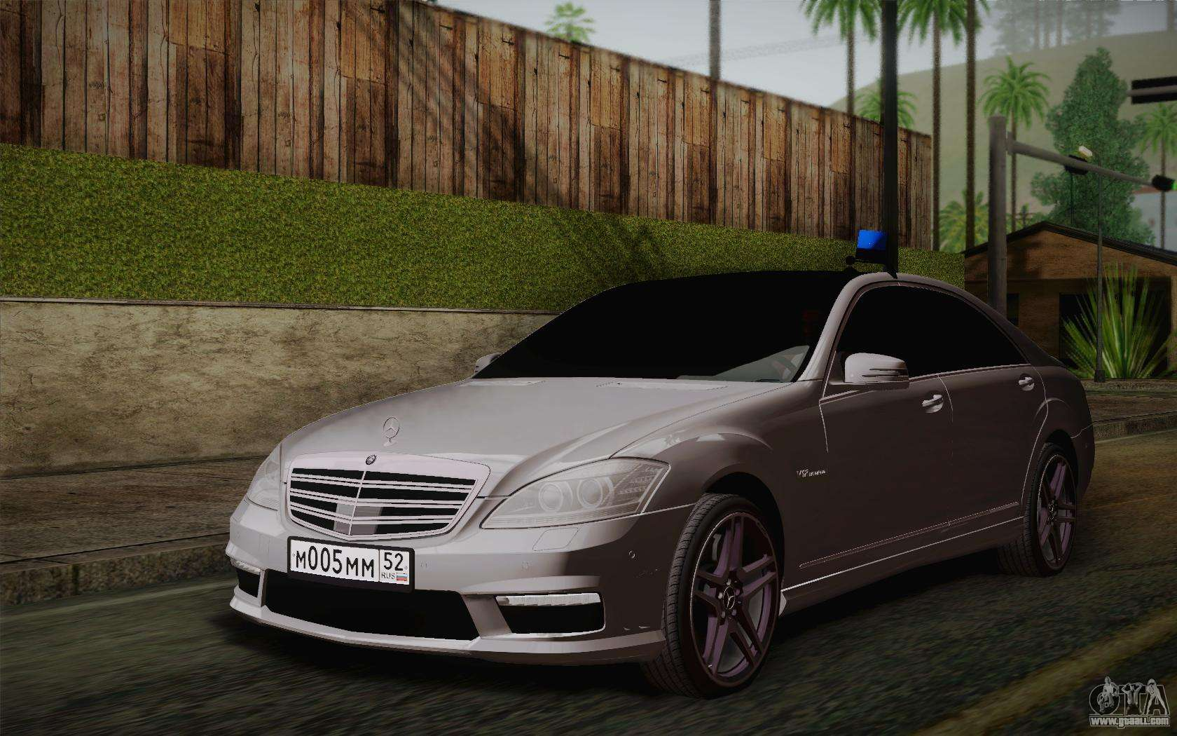 Mercedes benz s65 amg for gta san andreas for Mercedes benz gta