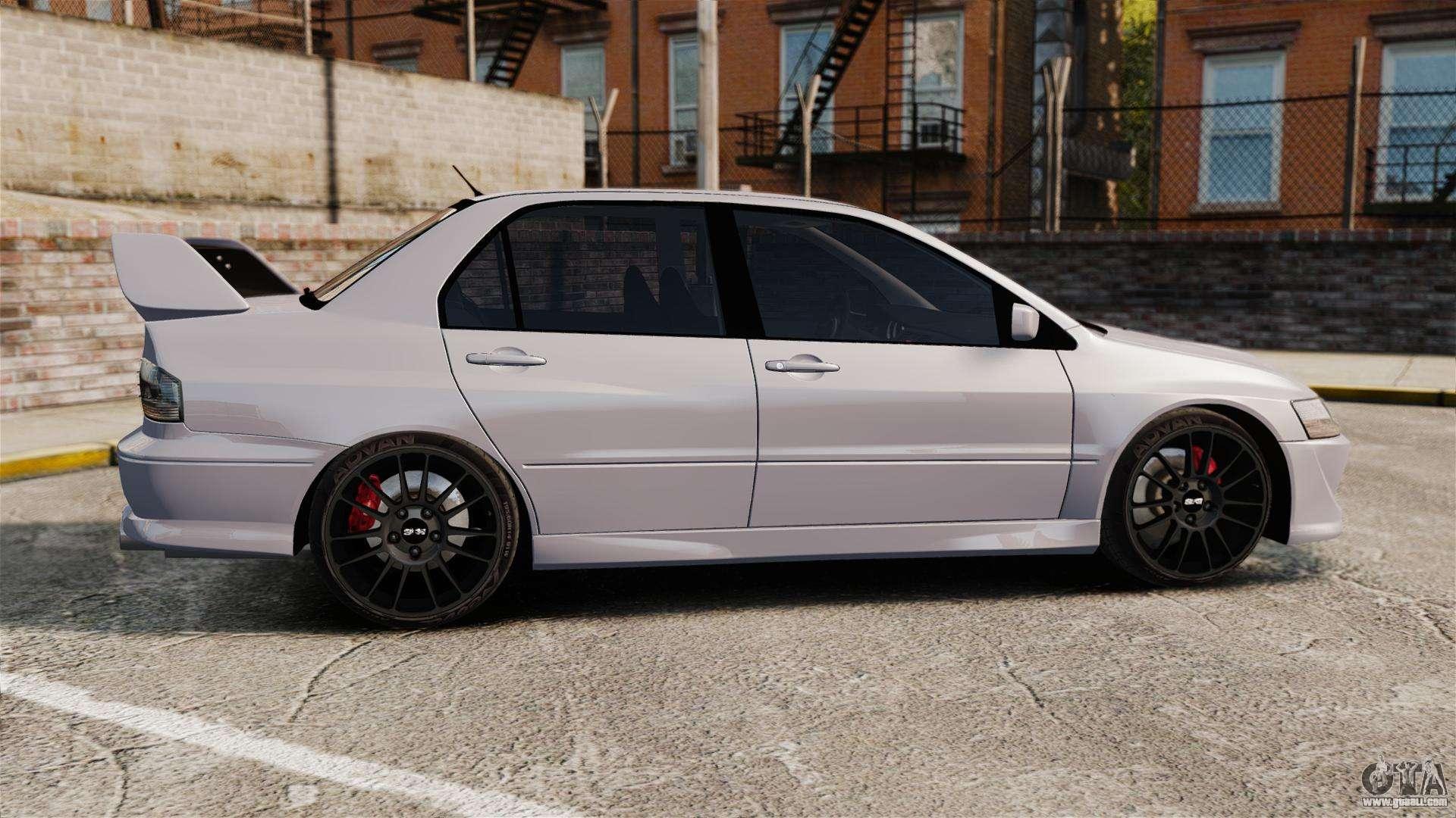 2006 Mitsubishi Lancer Evolution Mr >> Mitsubitsi Lancer MR Evolution VIII 2004 Stock for GTA 4