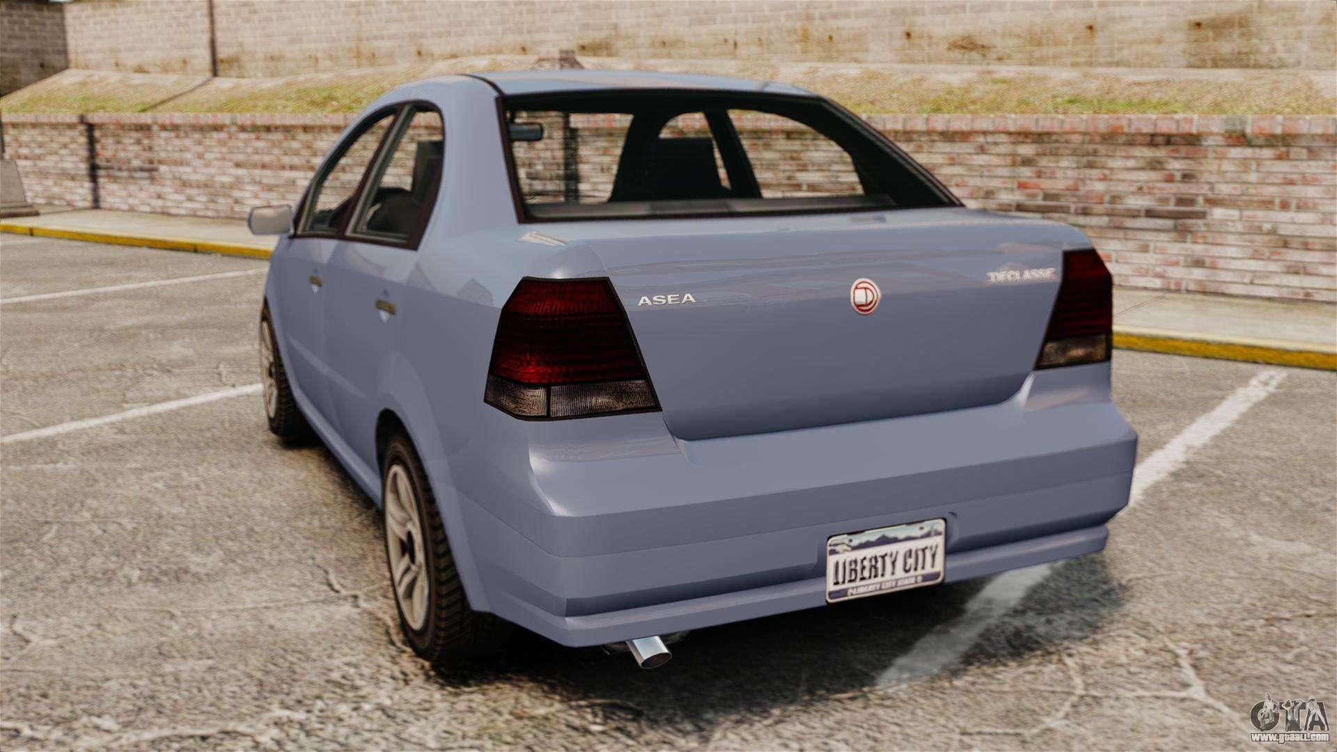 GTA V Declasse Asea I500 for GTA 4