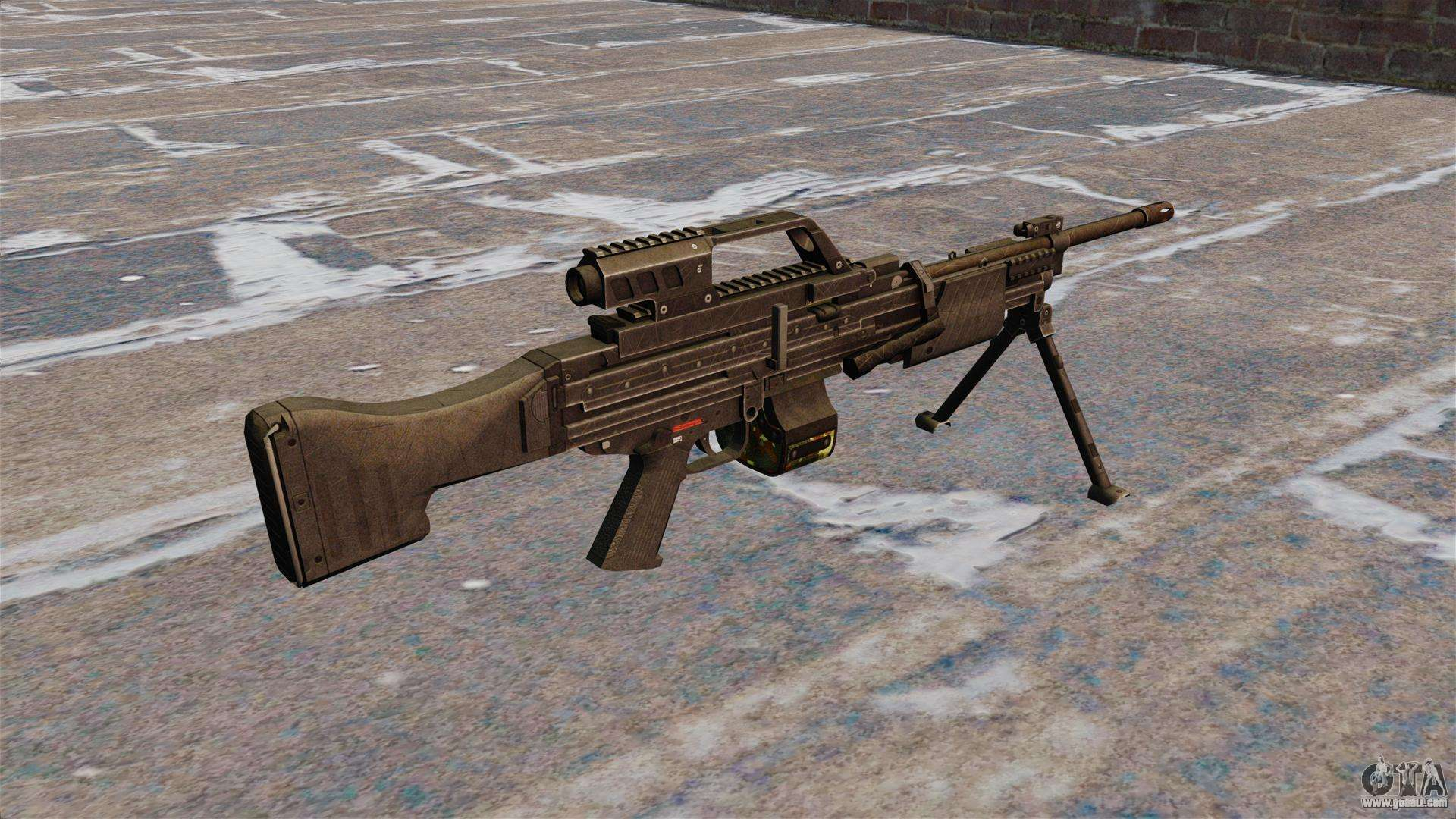 HK MG4 light machine gun for GTA 4