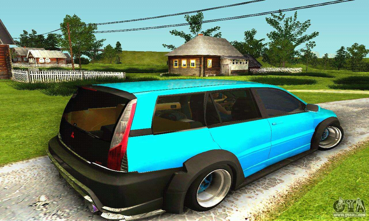 Mitsubishi Evo Ix Wagon S Tuning For Gta San Andreas