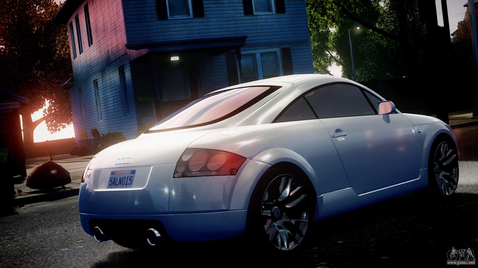 Audi Tt Coupe 3 2 Quattro 2004 For Gta 4