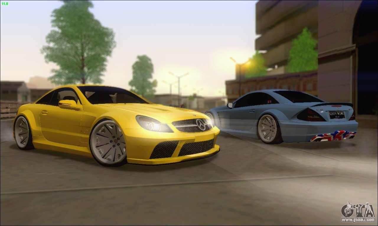 Mercedes benz sl65 amg gb for gta san andreas for Sl65 mercedes benz