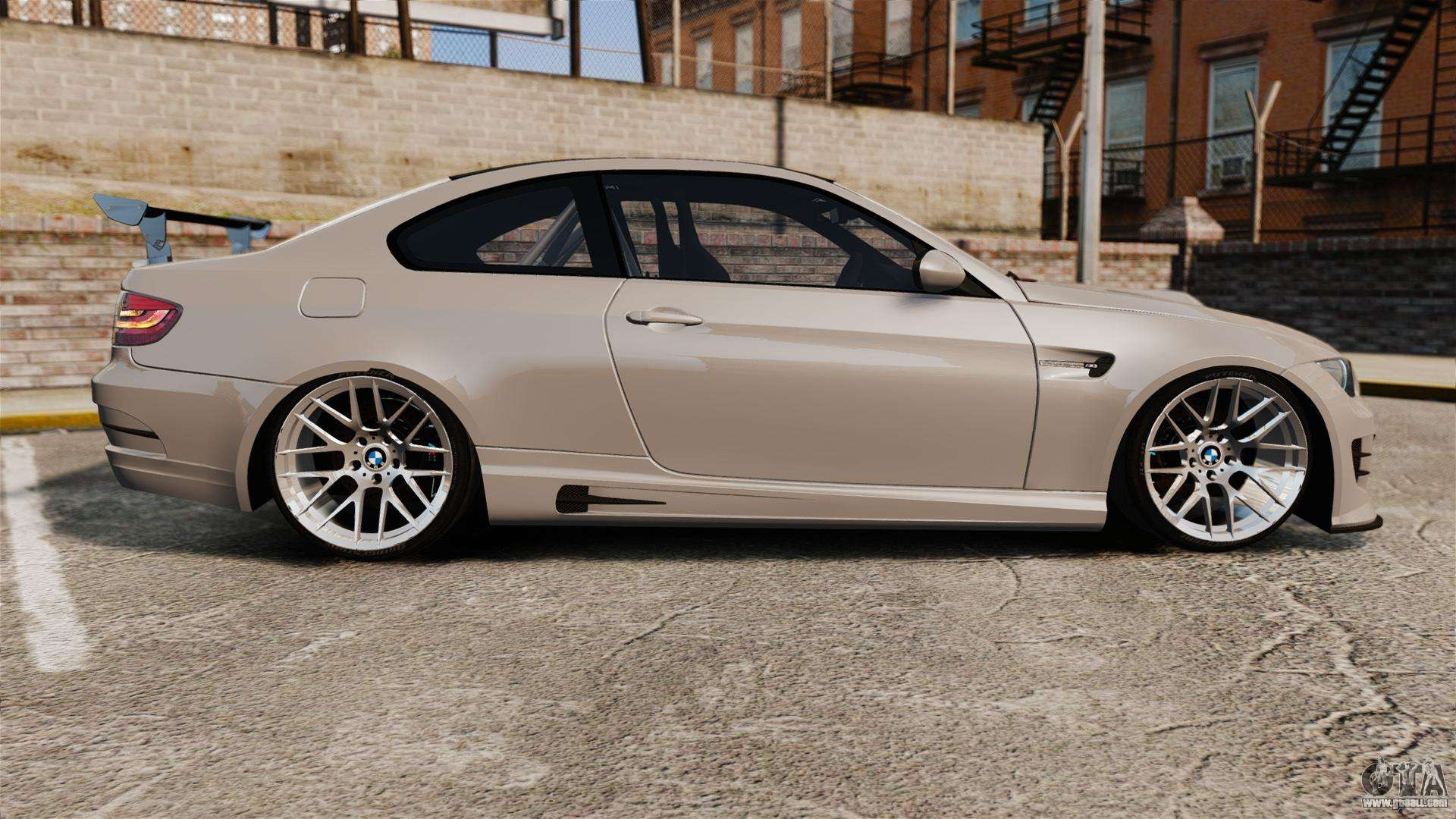 bmw m3 e92 gts 2010 for gta 4. Black Bedroom Furniture Sets. Home Design Ideas