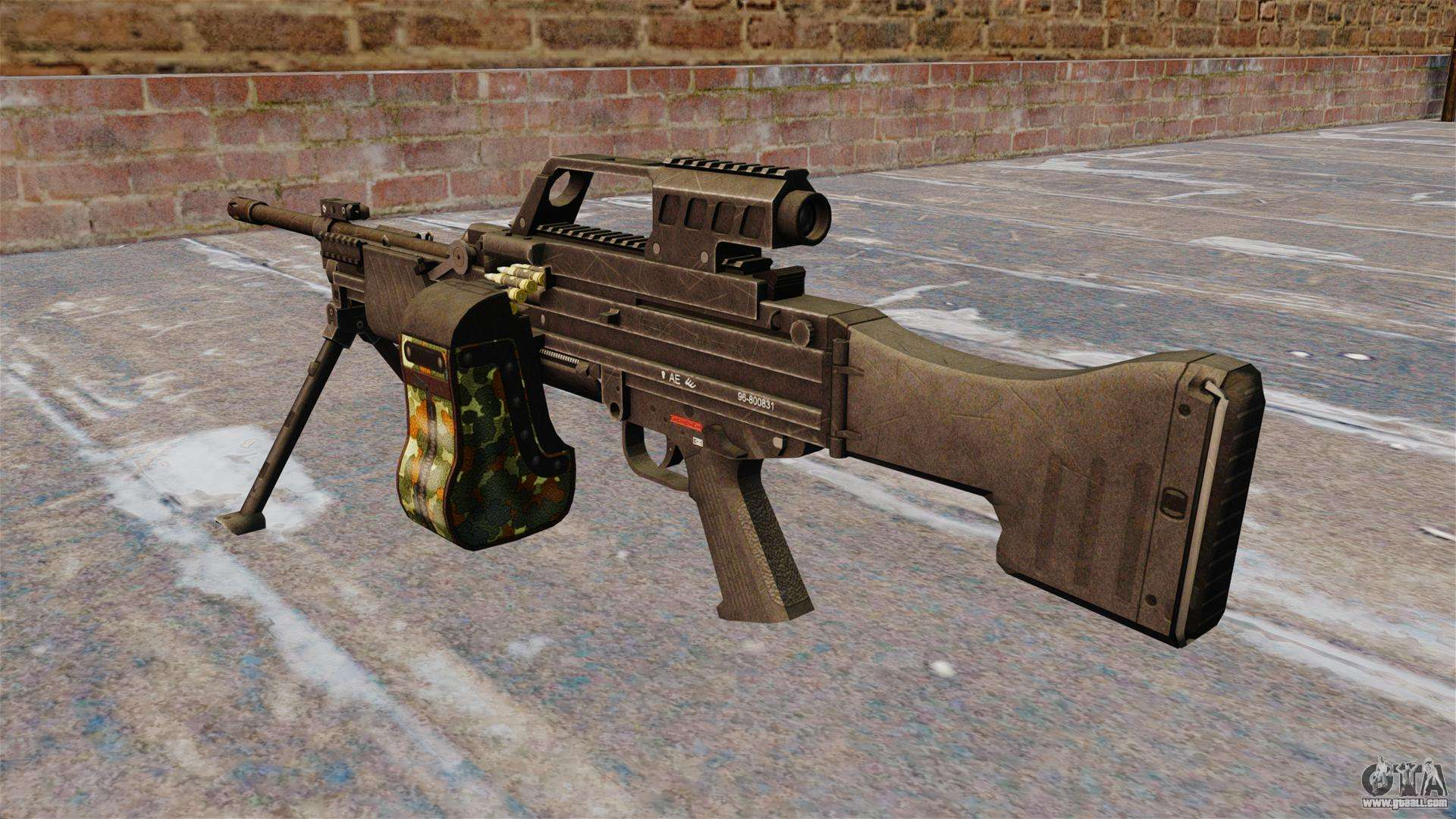 HK MG4 light machine gun