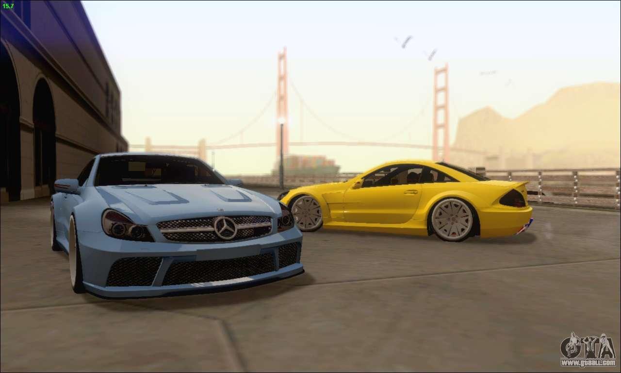 Mercedes benz sl65 amg gb for gta san andreas for Mercedes benz sl65 amg
