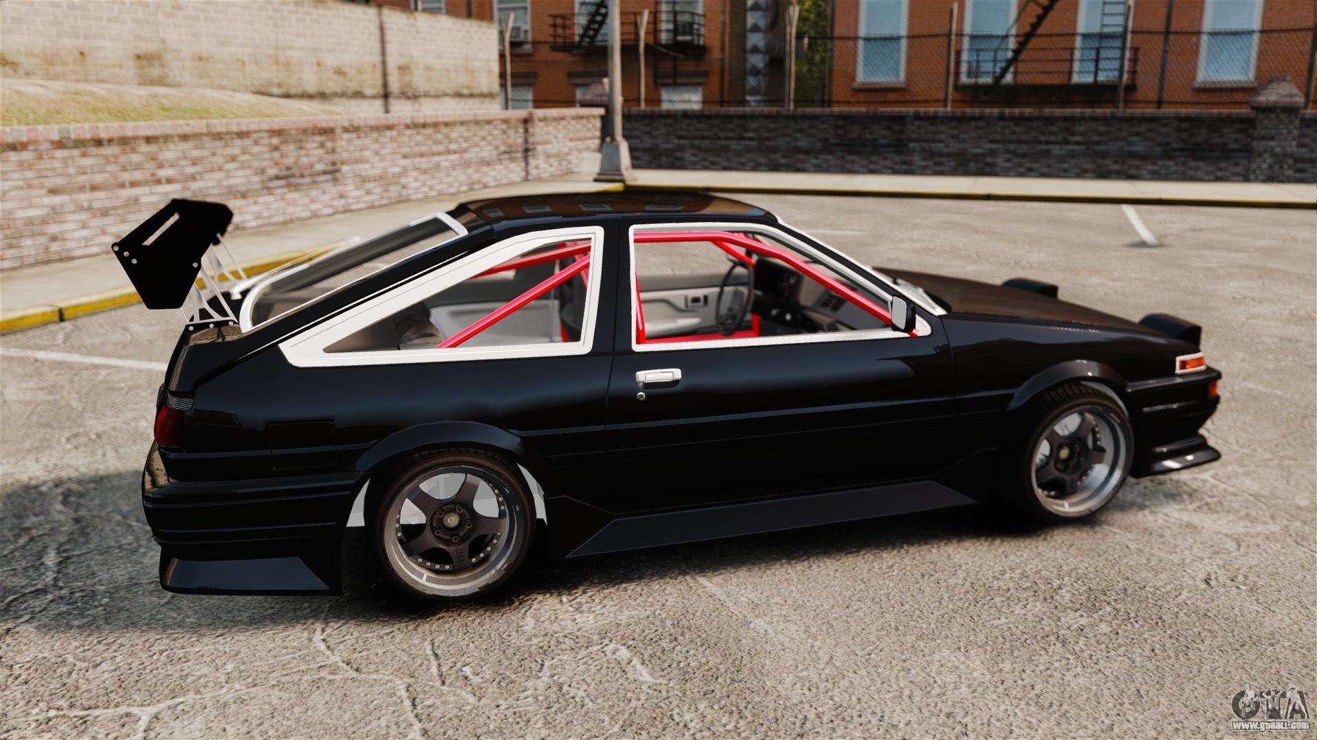 toyota sprinter trueno ae86 drifting for gta 4. Black Bedroom Furniture Sets. Home Design Ideas