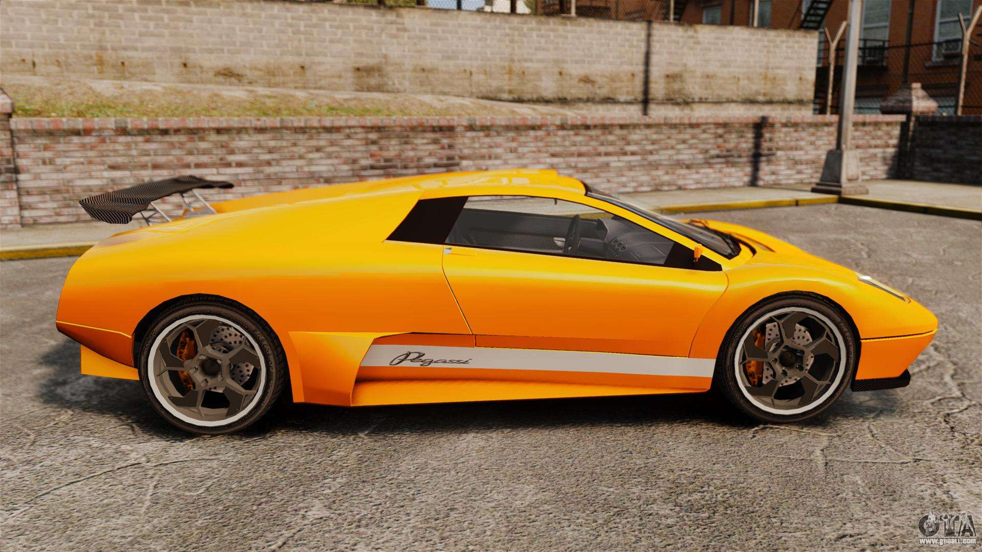 GTA V Infernus Pegassi for GTA 4