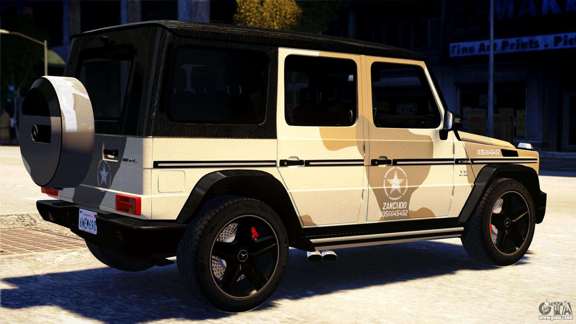 mercedes benz g65 amg 2013 for gta 4 left view - Mercedes G65 Amg 66