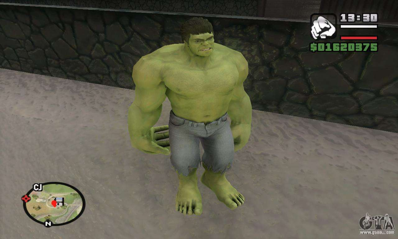 Hulk for GTA San Andreas