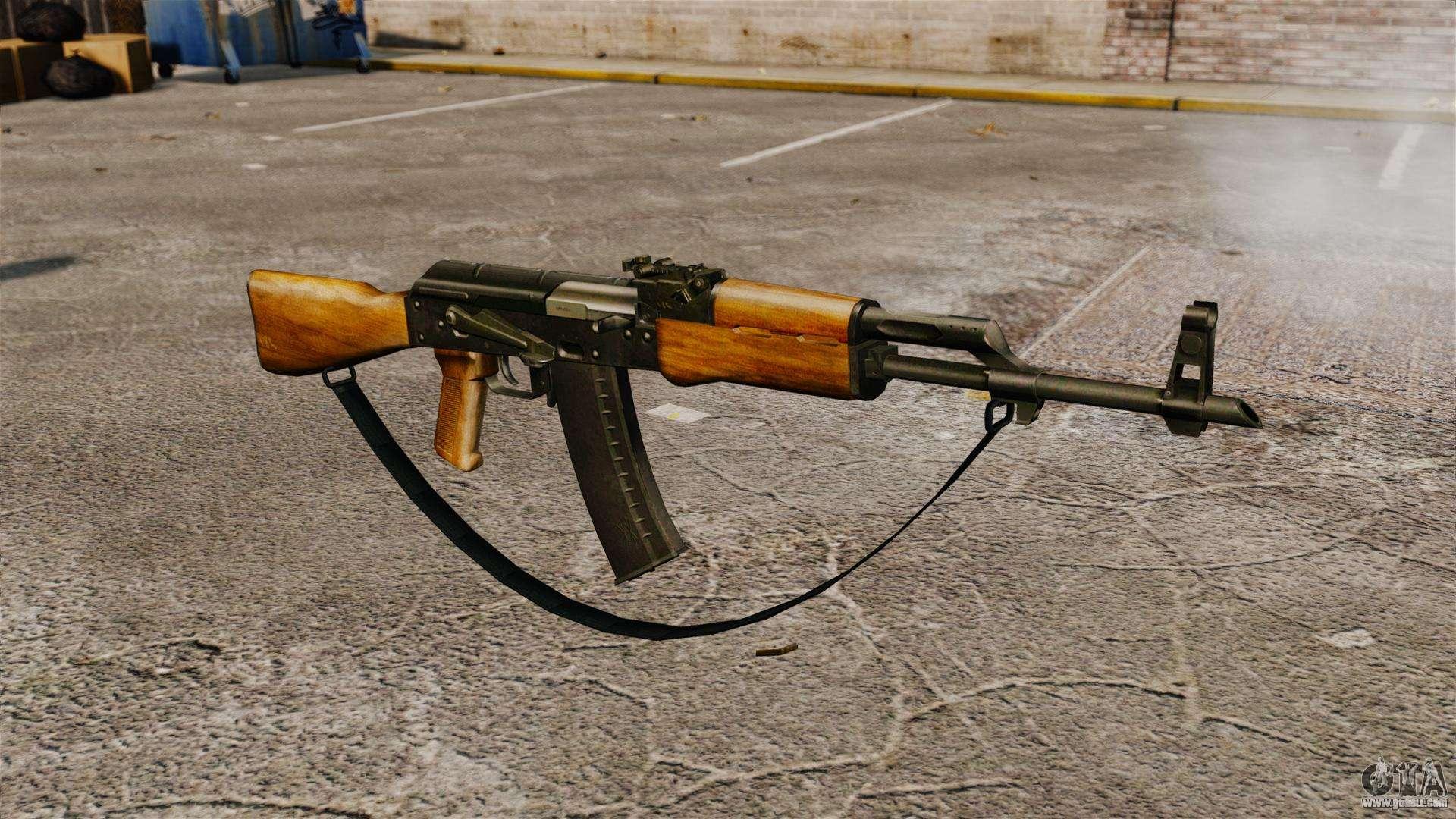 AK 47 V5 For GTA 4