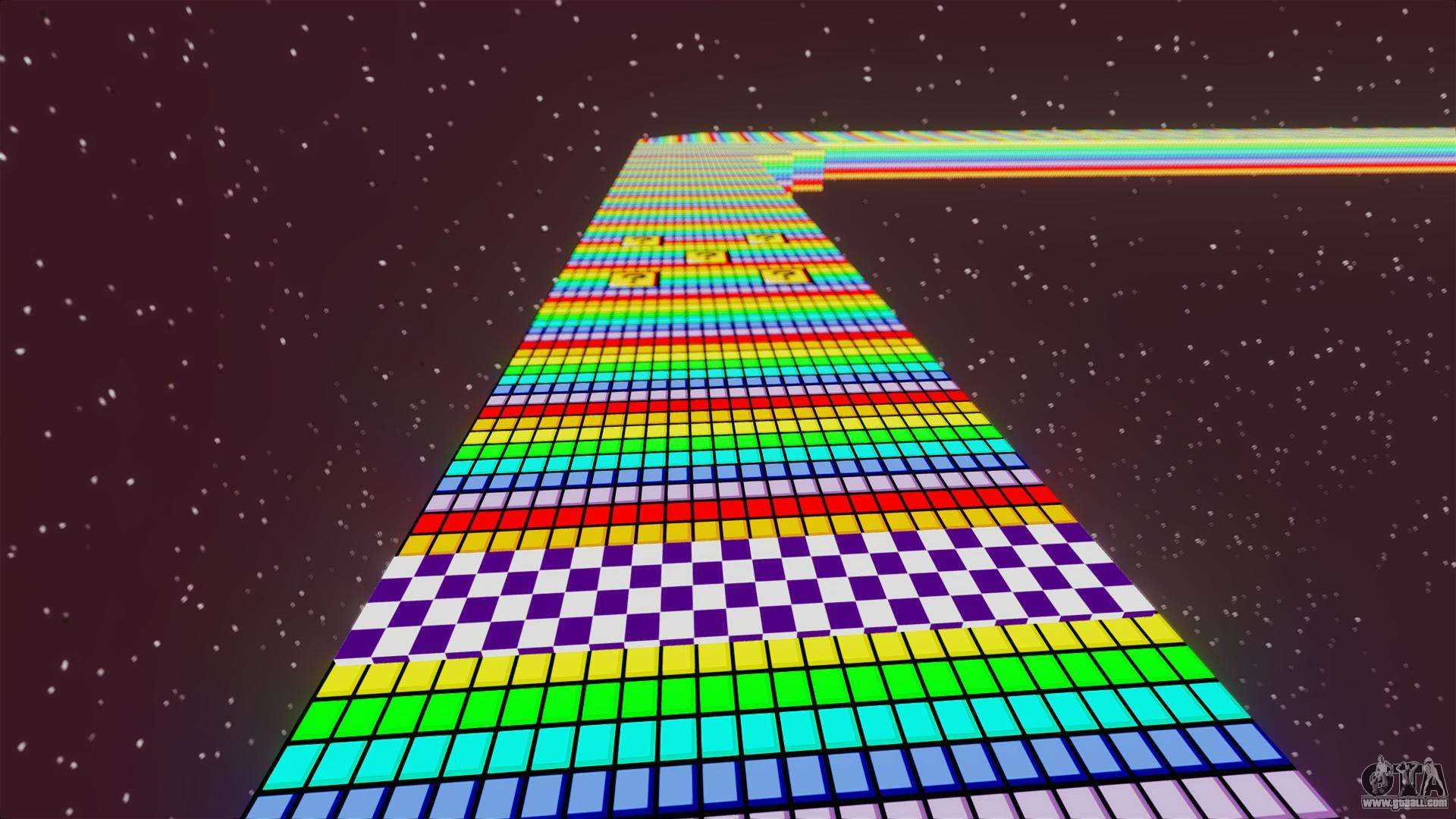 rainbow road for gta 4
