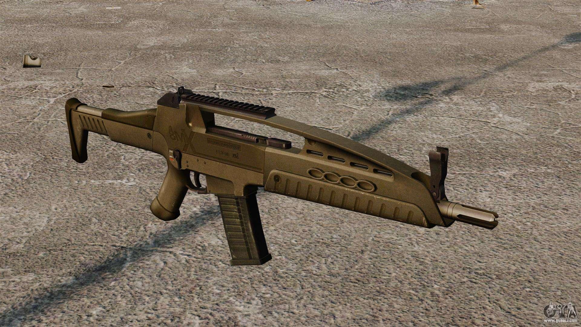 HK XM8 Assault Rifle f...