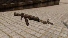 The an-94 Abakan assault rifle