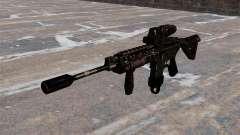 Automatic M4 carbine Hybrid Scope