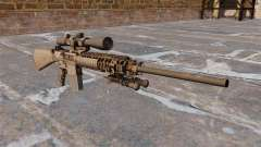 The M110 sniper rifle