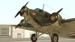 Junkers Ju-52 for GTA San Andreas