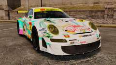 Porsche GT3 RSR 2008 Hatsune Miku for GTA 4