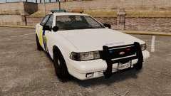 GTA V Police Vapid Cruiser Alderney state