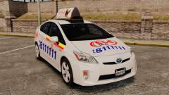 Toyota Prius 2011 Warsaw Taxi v3 for GTA 4