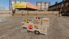 New textures of hot dog carts for GTA 4