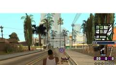 (C) HUD-by Gabbi_Stafford for GTA San Andreas
