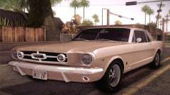 Ford Mustang GT 289 Hardtop Coupe 1965 for GTA San Andreas