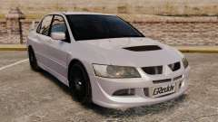Mitsubitsi Lancer MR Evolution VIII 2004 Stock for GTA 4