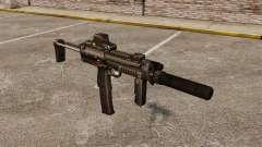 HK MP7 submachine gun Sopmod for GTA 4