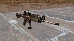Automatic carbine M4 Red Dot Black Edition for GTA 4